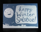 Happy Winter Solstice (greeting card)