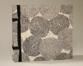 Monochrome- Handmade pocket journal/ sketchbook