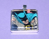 Vintage Comic Book Pendant featuring Batman (1976) - one of a kind