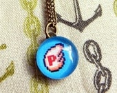 Necklace - 8bit PWing from Super Mario Bros Three