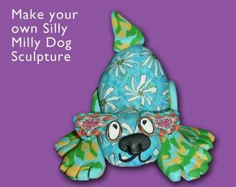 Dog Sculpture Kit- Polymer Clay