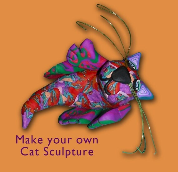 Cat Sculpture Kit
