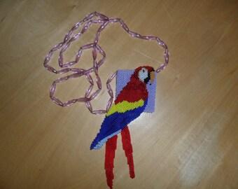 parrot coin purse