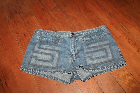 SALE- Roller Girl Denim Short Shorts- Size 32 Waist