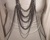 Leo- Gunmetal Body/Necklace Chain