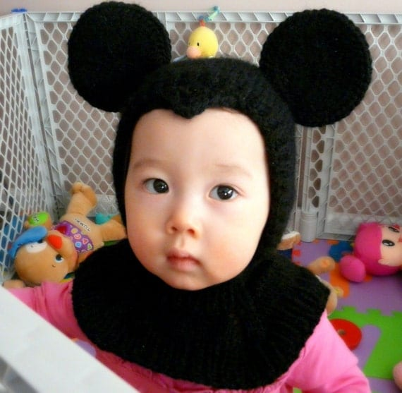 Mickey Mouse Coverall Hat 9-18months