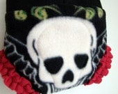 Skull Fleece Soaker with Leg Ruffle - Sweet Child O'Mine (S, M, L)