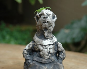 Old Man with Trousers sculpture vase
