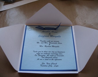 Made to Order Wedding Package - set of 25 from Save the Date to Thank You cards