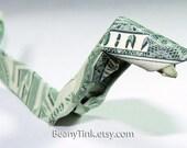 Dollar Origami - Snake