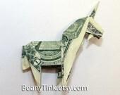 Dollar Origami - Unicorn