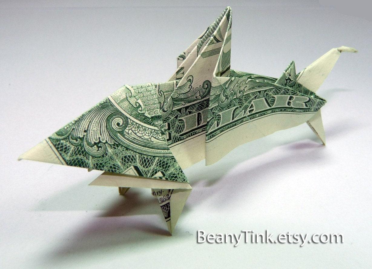Dollar Bill Koi Fish Origami Instructions Psychologyarticlesfo
