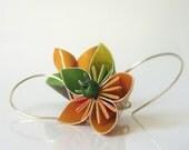 Paper earrings - Desigual lotus