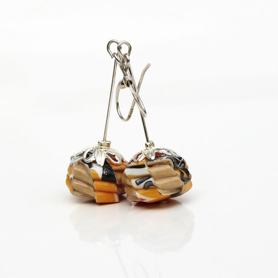 Paper earring - Gemme autunnali