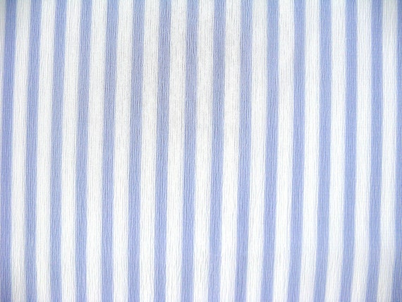 Vintage Fabric - Purple and White Stripe Lightweight Synthetic yardage - 4.5 yds x 45 in wide