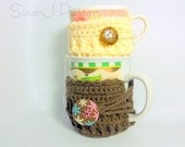 Instant download - Mug Cozy One - PDF Pattern - 2 sizes