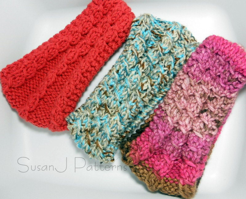 Knitting Headbands For Beginners : Cable headband knitting pattern pdf from