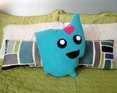 Mighty Ohio Pillow Plush (blue)