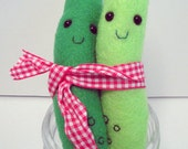 Custom Listing for rahulgopalsingh2 Plush Pickle Duo
