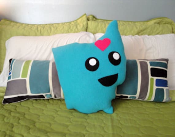 Mighty Ohio Pillow Plush (blue)