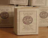 Healing St. Johns Wort bar soap Bergamot 4 oz