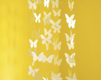 Butterfly Mobile - Paper mobile for Nursery, Baby or Kids Decor