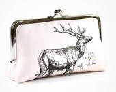 ON SALE Was 70 now 50 Clutch purse with elk