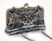 Clutch with driftwood no. 2 with chain