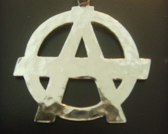 ANARCHY  PENDANT  sterling silver 925