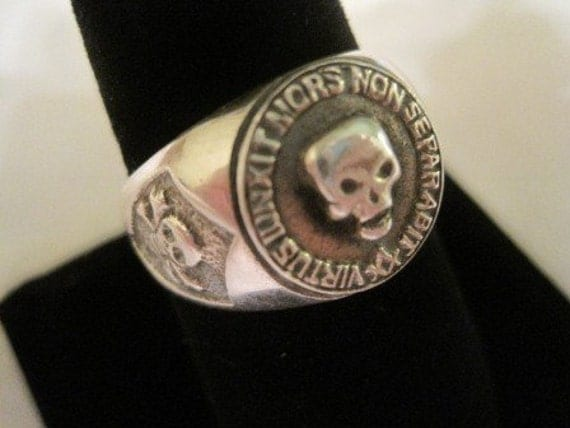 sterling silver 925 MASONIC skull ring  FREE MASONS all size you want