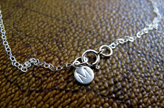 Reserved for Jeannie - Two Initial Charms
