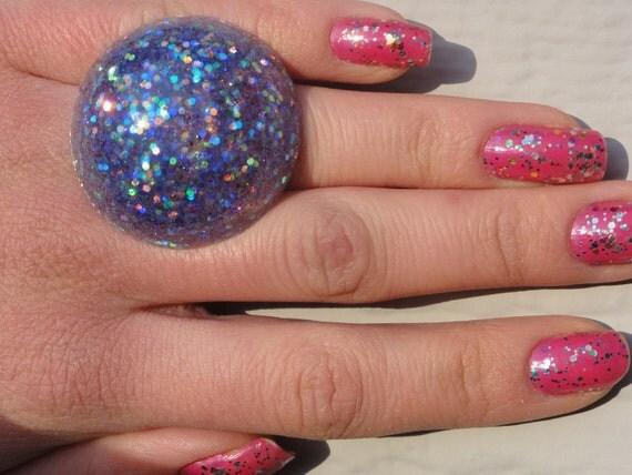 Reserved for Sinem-Mermaid Sparkle Bubble Ring