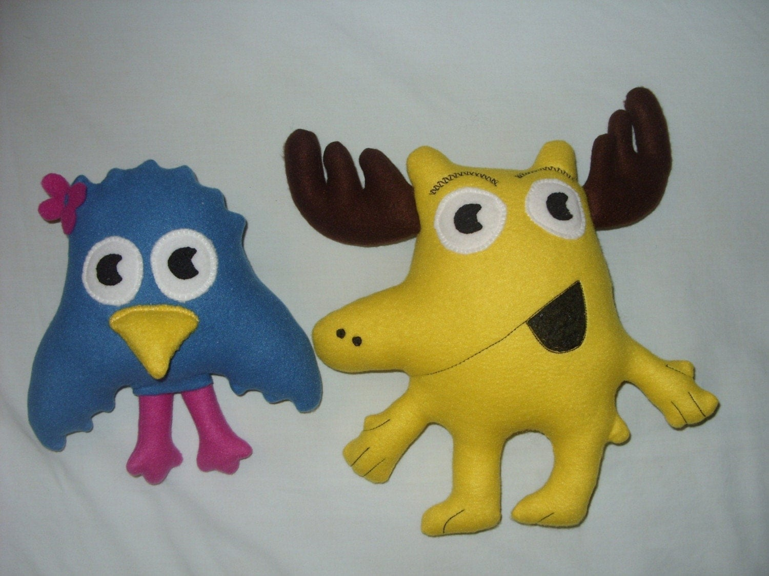 Moose And Zee Look A Like Plush Toys Nick Jr