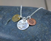Trio Mixed Metal Necklace for Dog Lovers