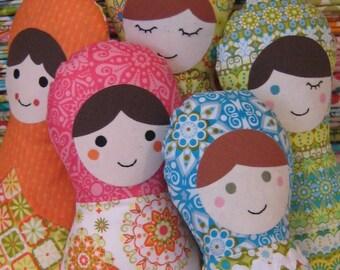 Matryoshka Doll - Soft Toy Sewing Pattern