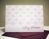 Flourish Lace Custom Stationery Set