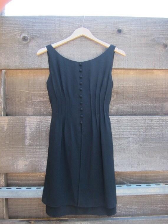 Gorgeous Tailored Black Dress
