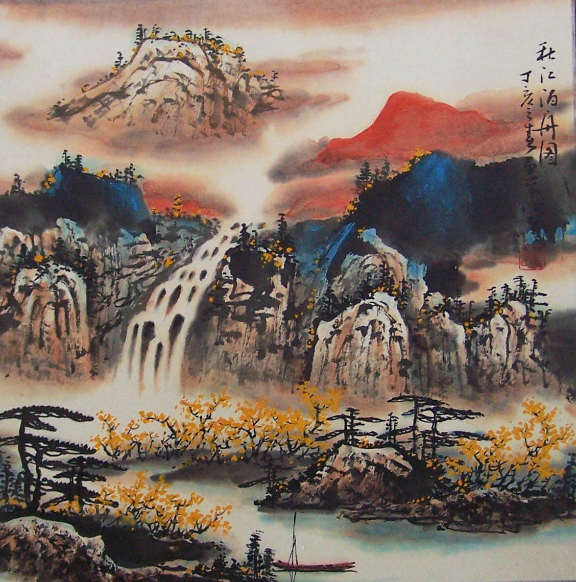 original chinese traditional art chinese brush painting