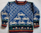 Four Year Cars Sweater