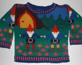 Six Month Gnomes Sweater