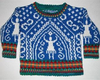 One Year Dancer Sweater