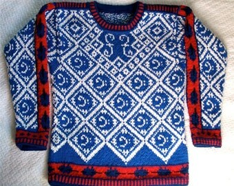 Seven/Eight Year Cello Sweater