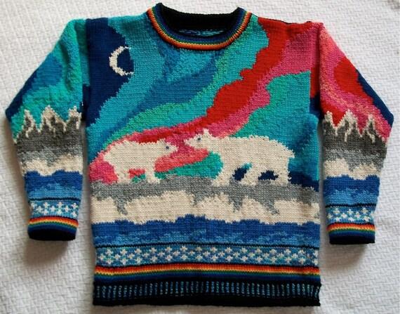 Seven/Eight Year Aurora Sweater