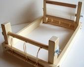 Weaving loom - Recycled pine rigid heddle 20cm weave