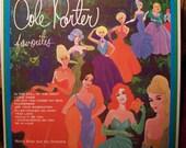 Cole Porter Vintage Record Art