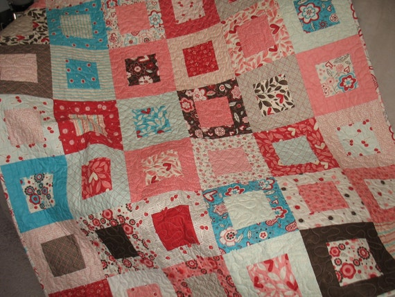 Giddy Lap Quilt Or Baby Quilt Pattern Also Available