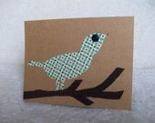 Birds on a Branch - Set of 2 Greeting Cards with Envelopes