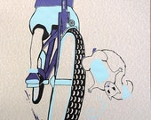 ArtCrank Denver Squirrel - hand pulled screenprint poster