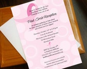 reserved for nyrchic-Ribbon and Dots Invite-Breast Cancer