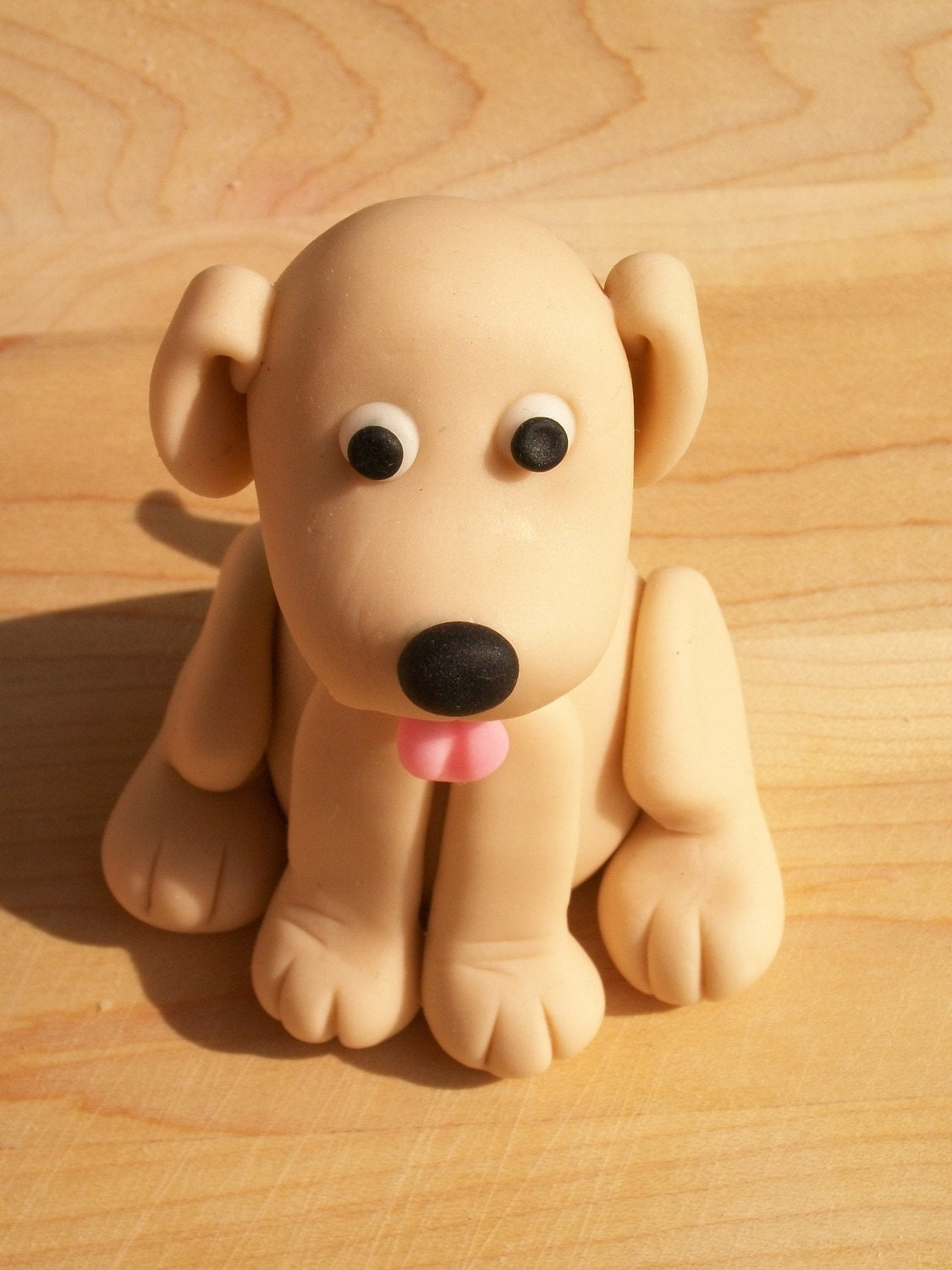 How To Make A Fondant Dog Cake Topper